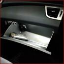 Glove box LED lighting for Kona