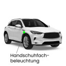 Glove box LED lighting for Pulsar C13