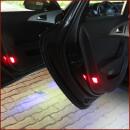 Door backward LED lighting for Kodiaq