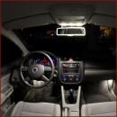 Front interior LED lighting for Skoda Citigo with sliding...