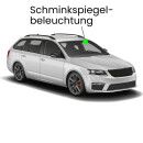 Makeup mirrors LED lighting for Toyota Corolla E210...